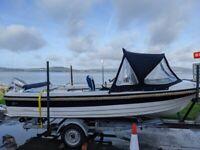 17' Leisure Fishing Boat, Kruger Beta