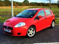 ★★★WOW★★★ (2007) FIAT GRANDE PUNTO SPORT 1.2 ACTIVE - 12 MONTHS MOT - FULL SERVICE HISTORY