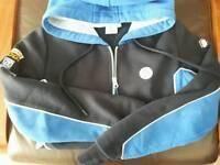 Ladies hoodie+poloshirt- VW motorsport logo on back