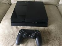 PS4 500gb in excellent condition
