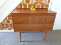 Vintage 1960's Teak Chest of Drawers