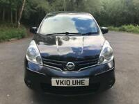 Nissan note n-tec 1.5 diesel pure drive 1 keeper from new bargain £1395 2010