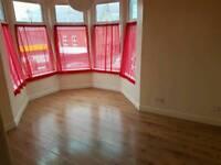 One bedroom unfurnished flat.
