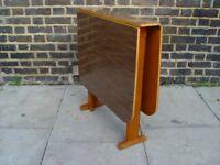 FREE DELIVERY Retro Gate Leg Table Vintage Furniture