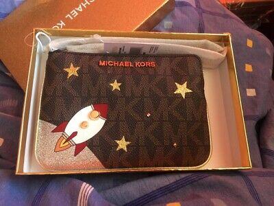 Michael Kors MK Geldbörse Karte Kosmetik Tasche Neu mit Geschenk Box Portmonaie