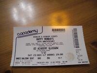 Happy Mondays ticket, 02 Academy Glasgow (Sat 23rd-Dec-17)