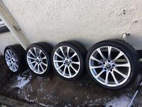 "Lovely BMW 18"" Alloys. 1,2,3,4,5,6,7 Series, 5x120 PCD, Vw Transporter, Range Rover, VIvaro."