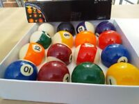 Pool Balls Brand New and in box