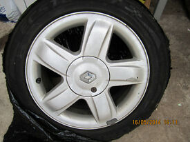 "15"" Alloy Wheel suitable for Renault Clio/Megane"