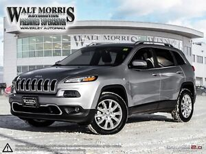 2016 Jeep Cherokee Limited - LEATHER, REAR VIEW CAMERA, SENSORS,