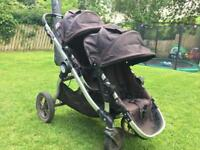 Baby jogger city select tandem double or single pram