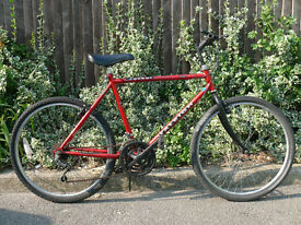 Gents Classic Raleigh 'Jackel' Commuter Hybrid