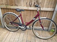 Raleigh Caprice Traditional Style Hybrid Ladies Bike