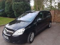 2010 Zafira 7 seater low mileage part service history