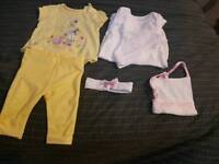 Baby girls clothes !more than pictured!