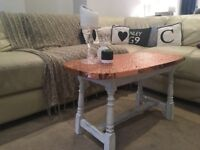 Copper coffee table shabby chic. Quick sale 27th latest.