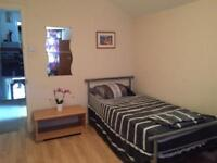 A semi double room for rent near Upton Park underground