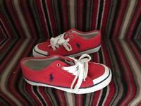 Red Ralph Lauren shoes