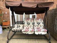 3 Seater Patio Garden Swing/ Hammock