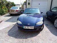 Mazda, MX-5, Convertible, 2003, Manual, 1839 (cc), 2 doors