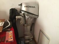 Boat for free and outboard engine for sale