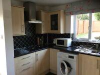 Kitchen units with appliances
