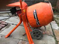 Belle Honda Petrol Cement Mixer & stand