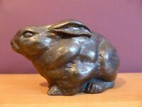 Lovely Bronze Effect Rabbit