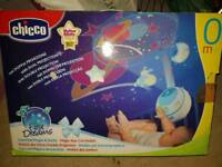 chico magic stars cot mobile and projector