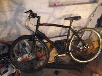 specialized syris hybrid bike (semi race)