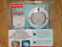 Fisher price Sound & Light baby monitor. With build-in nightlight