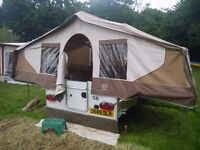 WANTED CASH WAITING_ ANY CONWAY, PENNINE or TRIGANO FOLDING CAMPER trailer tent