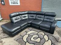 SOLD! Absolutely LAZY boy leather reclining corner sofa delivery 🚚 sofa suite couch furniture