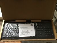 New genuine HP and Dell usb black keyboards