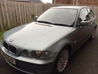 Reduced!!! BMW Compact 316Ti SE. 3 door hatchback. Petrol car. In good order. Full years M.O.T