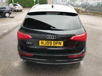 Audi Q5 S Line 2.0 Quattro, Black, 09 Reg, Full service History