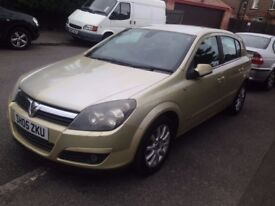 2005 VAUXHALL ASTRA 1.6 DESIGN AUTO LEATHER SEAT like focus fusion civic note toyota c4 megane golf