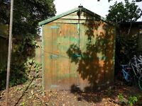 Wooden Apex Shed in good solid condition