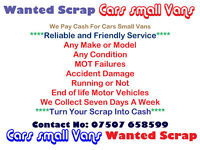 Manchester Cars & Vans Scrap And Car Recovery Services 07507 658599 Greater Manchester Area