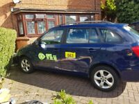 Quick urgent sale Skoda fabia 1.6 tdi private hire urgent