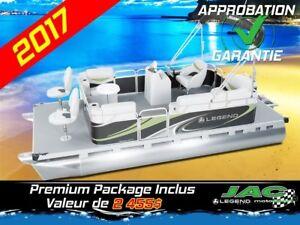 2017 Legend Boats Ponton Splash EXT Mercury 15 EL Bateau pêche *