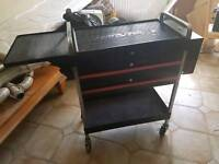 snap on blue point tool trolley