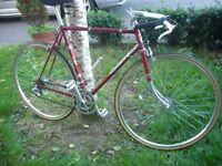 Vintage Viscount (made in England) road bike/cafe racer.