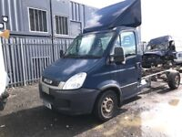 Iveco daily chasi cab spares 2010 year