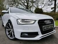 June 2012 (Facelift) Audi A4 2.0 Tdi S Line Auto Black Edition Spec! Tech Pack! Lovely Car! FINANCE