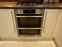 AEG DOUBLE OVEN WITH BUILT IN GRILL ONLY 7 MONTHS OLD.CHEAP