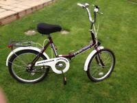 Raleigh Stowaway universal folding bike