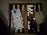 Backgammon set new condition
