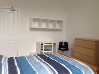 Large, freshly decorated Southside room with bills included-ideal transport links