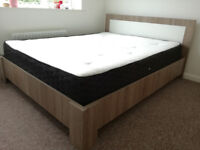 For Sale Bed frame + Mattress Memory Ortho dual sided